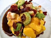 Ensalada mango langostinos