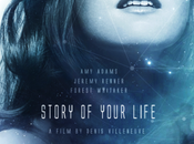 Afiches Story Your Life, drama ciencia ficción dirigida Denis Villeneuve