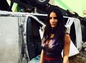 Olivia munn publica nueva imagen caracterizacion como psylocke x-men: apocalypse