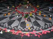Memorial John Lennon. Manhattan, Nueva York