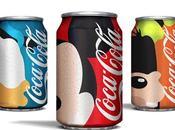 Disney Coca-Cola unidos creación magnífico concepto packaging