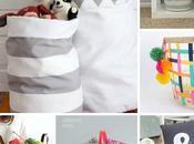 cestones handmade para organizar casa