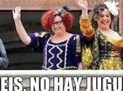 Valencia llegaron tres Reinas Magas protestas derecha.