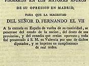 Comentario Texto: Manifiesto Persas (1814)