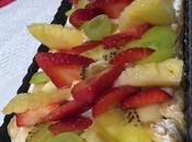 Tarta frutas.