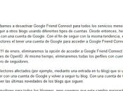 Cambios Google Friend Connect Blogging