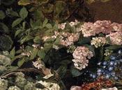 Painting modern garden. monet matisse.