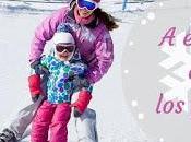 Planes invierno niños: Disfrutar escapada esquí familia