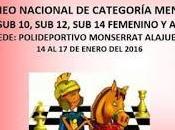 Parrilla salida: Nacional Infantil 2014 Monserrat
