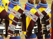 tribu sudafricana Ndebele.