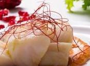 Lomo bacalao confitado salsa romesco