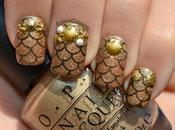 Nail Gold LadyQueen
