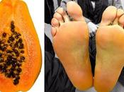 Unos pies amarillos