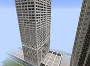 Réplica Minecraft. Rascacielos U.S. Bank Milwaukee, Wisconsin