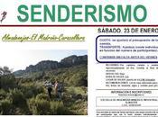 Este próximo semana nueva ruta senderismo EIMI Almadén