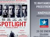 Concurso Spotlight, gana entrada doble para preestreno Madrid