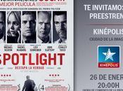 Concurso: Entradas para preestreno Spotlight McCarthy