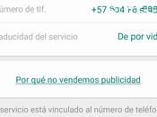 WhatsApp gratis vida