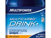 Bebida energética Multipower Muticarbo Drink+ mezcla tipos hidratos carbono parecen funcionar