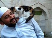 imán abre mezquita gatos callejeros.