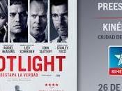gustaría asistir preestreno Spotlight?