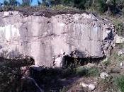 Búnker trincheras Escrita frente Nalón