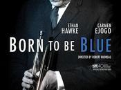 """Póster oficial """"born blue"""" ethan hawke como chet baker"""
