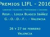 Valencia: Premios Libertad-Igualdad-Fraternidad-Laicidad