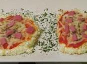 Mini pizzas coliflor