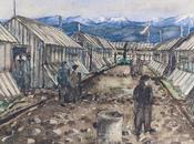 Exposición alemania obras arte pintadas judíos campos nazis