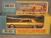 Mercury Cougar, otro King Size Matchbox