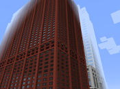 Replica Minecraft: Rascacielos Center, Chicago (EEUU).