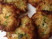 Buñuelos pescado verduras