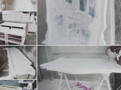 Proceso resultado final dormitorio clásico lacado blanco