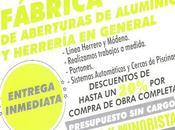Aberturas Aluminio Herrería General