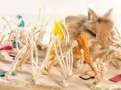 Alfombra, mesa árbol CUNIPIC, diversión para mascota