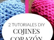TUTORIALES Cojínes corazón trapillo/crochet/ganchillo/amigurumi