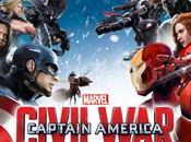 """""""capitan america: civil war"""" tres nuevas piezas arte promocional muestra bandos"""