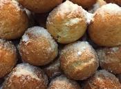 Castagnole italiano agujeros rosquilla.
