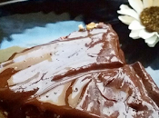 Tarta tofu chocolate