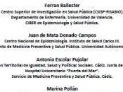 Informe: exceso mortalidad morbilidad detectado varias investigaciones Huelva