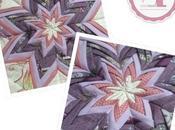 Cojín estrella, nueva combinación colores!!