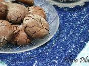 Galletas craqueladas chocolate (Chocolate crinkle cookies)