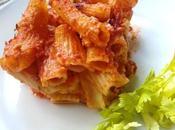 Macarrones gratinados salsa bechamel Rigatoni crosta