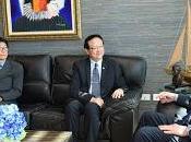 Ministro Turismo recibe visita nuevo embajador Taiwan