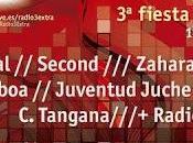 Amaral, Second Zahara, Madrid tercer aniversario Radio Extra