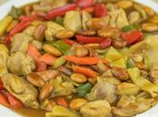 Receta pollo almendras estilo chino