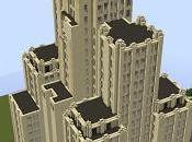 Réplica Minecraft: Bank America Building, Providence, Rhode Island, Estados Unidos.