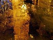 Ciudad tras lluvia