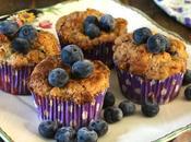 Muffins arándanos, crema queso streusel. {Receta finlandesa}